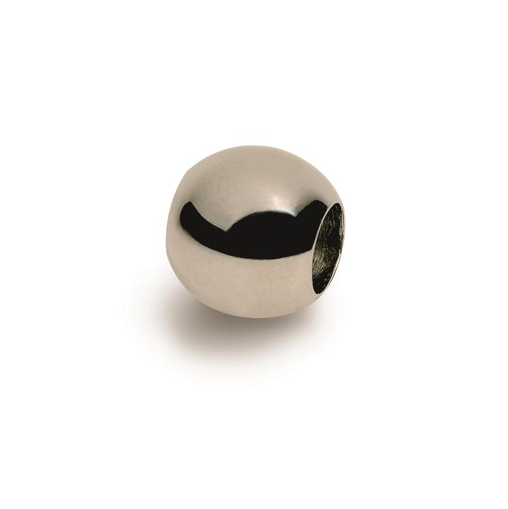 Leštený titánový prívesok - korálku BOCCIA® 0901-02