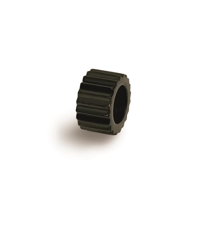 Čierny titánový prívesok - korálku BOCCIA® 0904-04