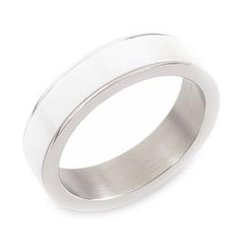 Pánsky titánový snubný prsteň BOCCIA® s keramikou 0132-01