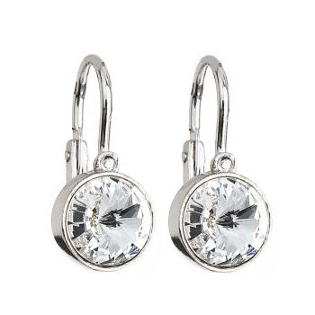 Dětské stříbrné náušnice s krystaly Swarovski®, Crystal EG2012