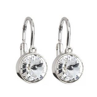 Dětské stříbrné náušnice s krystaly Swarovski®, Crystal