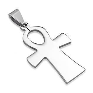 Ocelový přívěšek - egyptský kříž života
