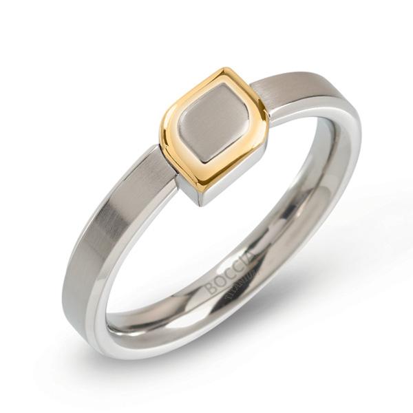 BOCCIA® titánový prsteň 0142-02