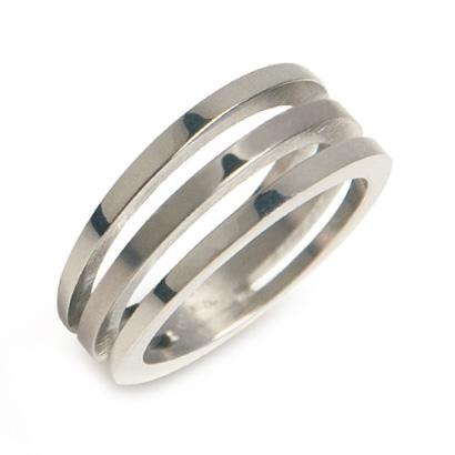 BOCCIA® titánový prsteň 0128-01