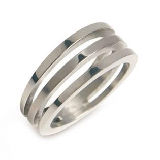 BOCCIA® titanový prsten 0128-01