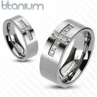 TT1016 Titanový prsten šíře 6 mm