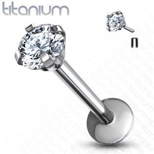 Piercing do brady - labreta titan 1,2 x 8 mm