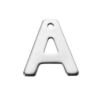 """Drobný ocelový přívěšek - iniciála """"A"""""""