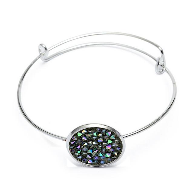 Náramok s kryštálmi Crystals from Swarovski ® PARADISE SHINE 77287c73c33