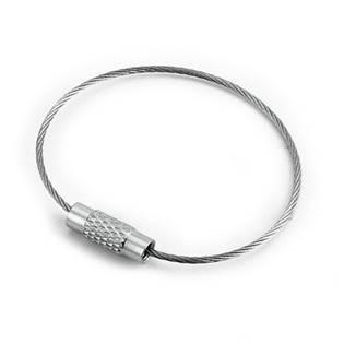 Šperky4U Ocelové lanko na klíče - OPT3000