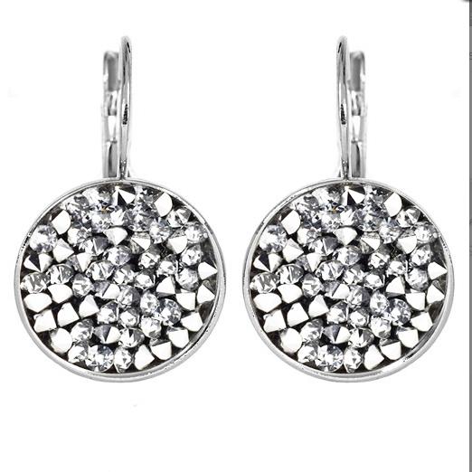Náušnice s krystaly Crystals from Swarovski® CRYSTAL CAL