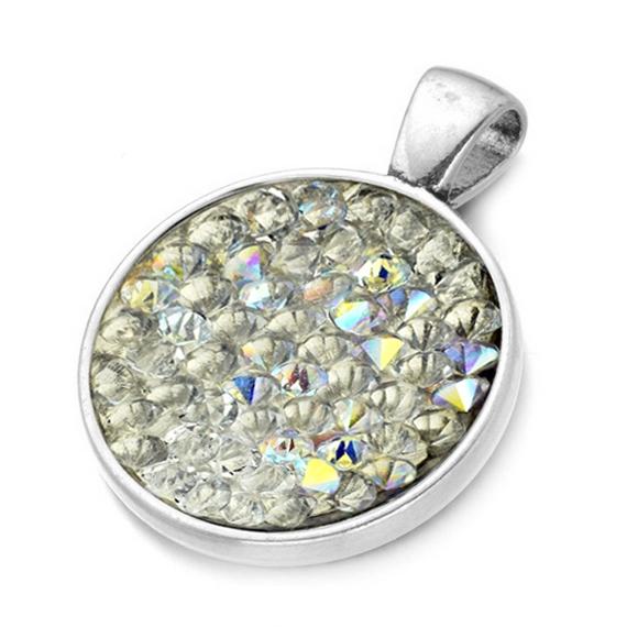 Přívěšek s krystaly Crystals from Swarovski® CRYSTAL AB