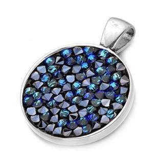 Přívěšek s krystaly Crystals from Swarovski® BERMUDA BLUE