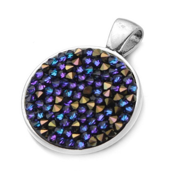Přívěšek s krystaly Crystals from Swarovski® HELIOTROPE