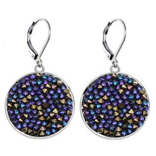 Náušnice s krystaly Crystals from Swarovski® HELIOTROPE