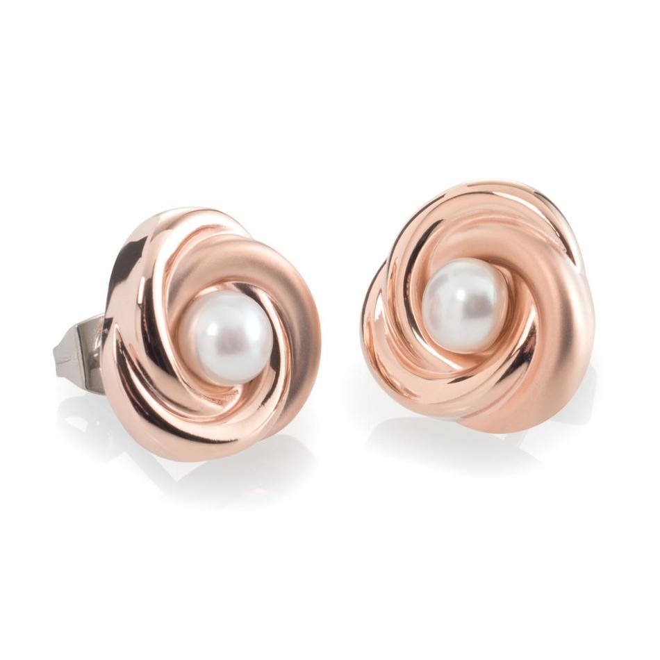 Titánové náušnice s perličkou BOCCIA® 0590-03
