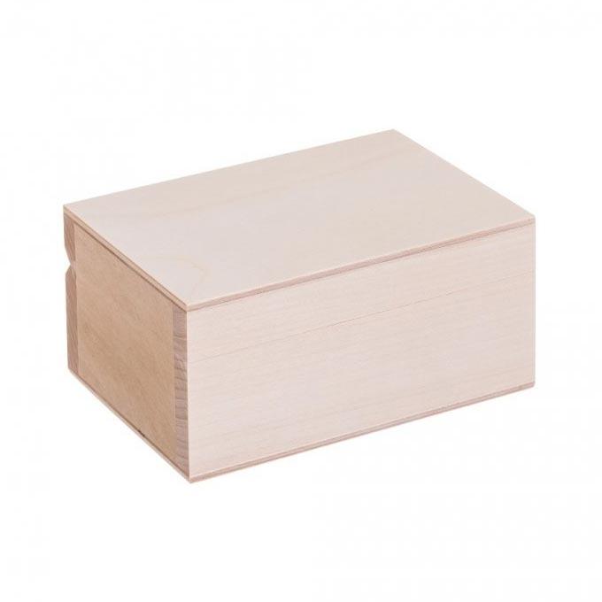 Drevená krabička - šperkovnica