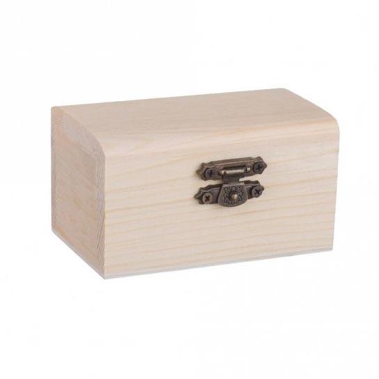 Drevená truhlička - šperkovnica