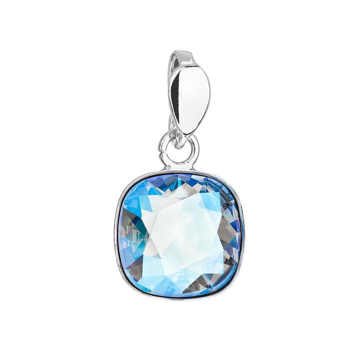 Stříbrný přívěšek Crystals from Swarovski® Sapphire Shimmer