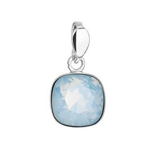 EVOLUTION GROUP CZ Stříbrný přívěšek Crystals from Swarovski® Blue Opal - 34224.7 Blue Opal