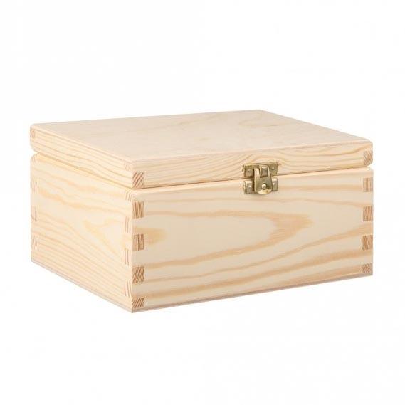 Drevená krabička na šperky