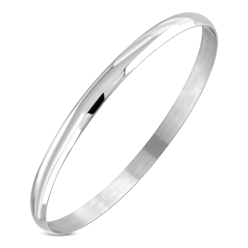 Dámský ocelový náramek - kruh