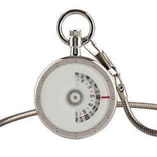 Šperky4U Kapesní hodinky - cibule s otočným ciferníkem - KH0069