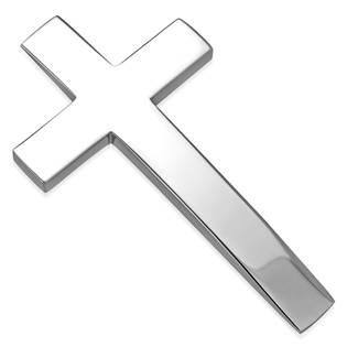 OPP1611 Ocelový přívěšek - kříž