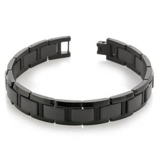 Pánský titanový náramek černý 0337-04