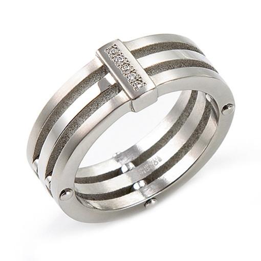 Titánový prsteň 0126-01