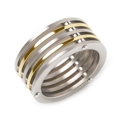 Titánový prsteň 0125-02