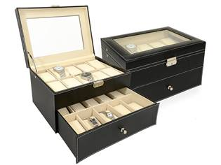 Šperkovnice na hodinky a náramky
