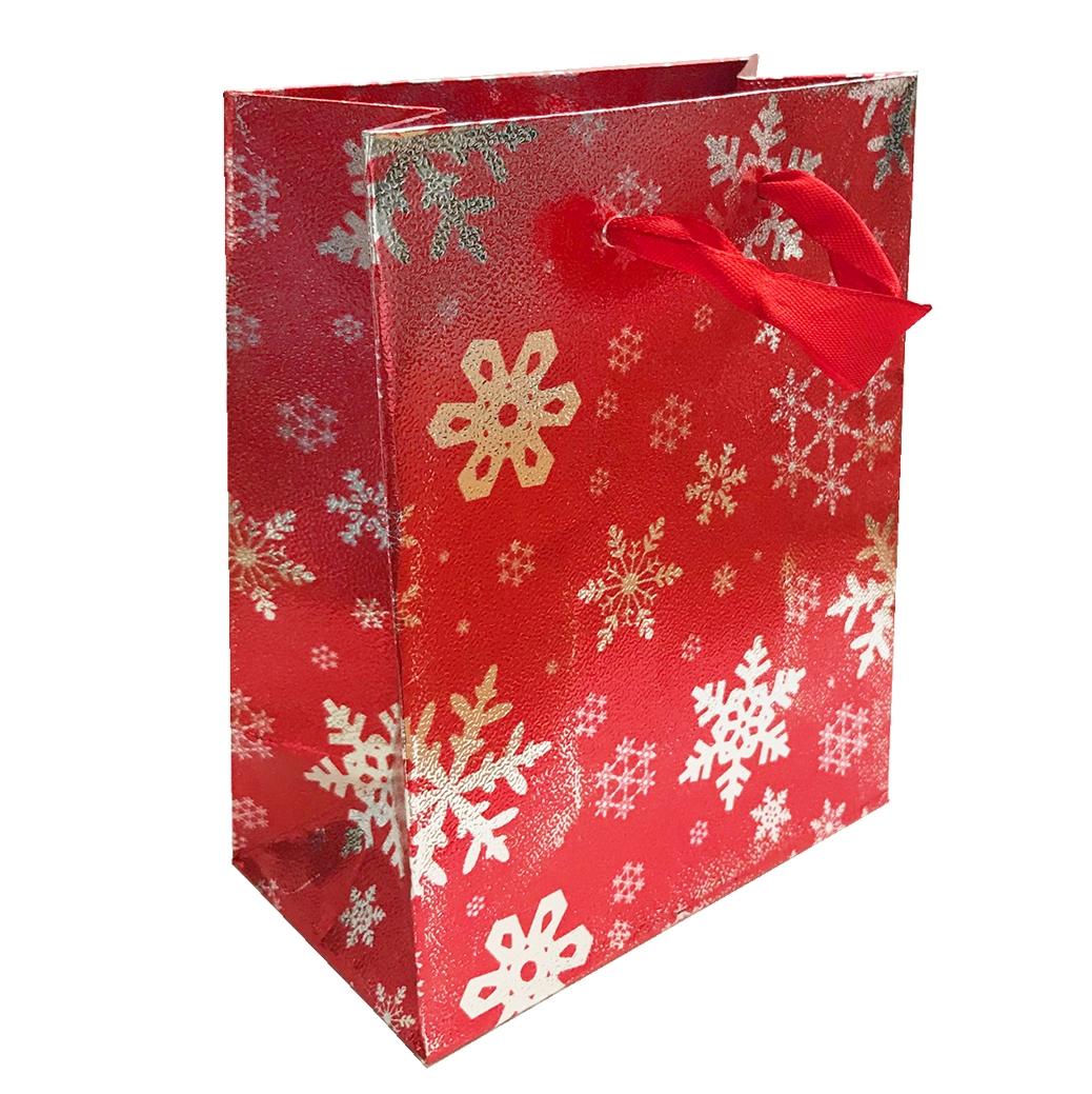 Vánoční dárková červená malá