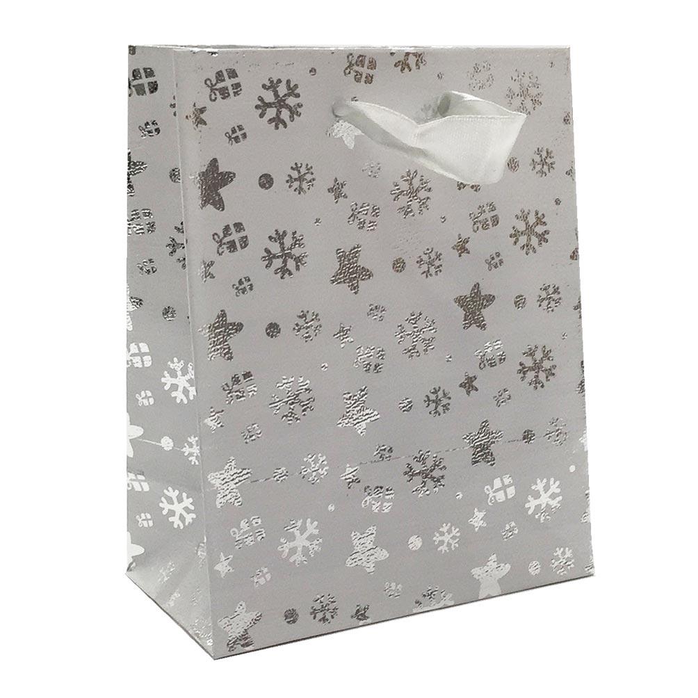 Vánoční dárková stříbrná malá