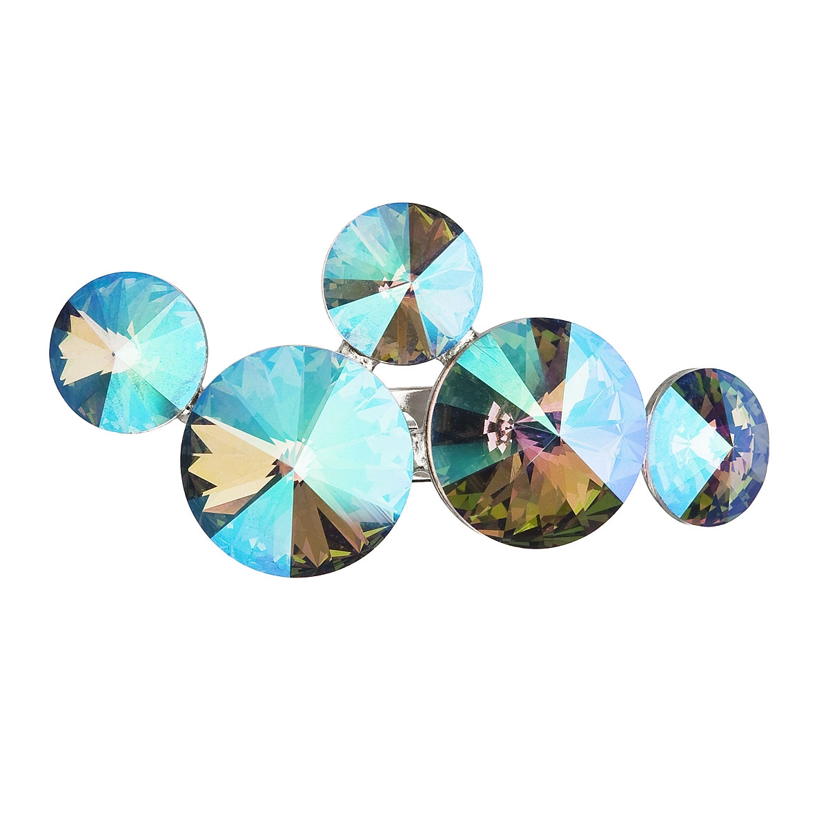 Brošňa s kamienkami Crystals From Swarovski ®