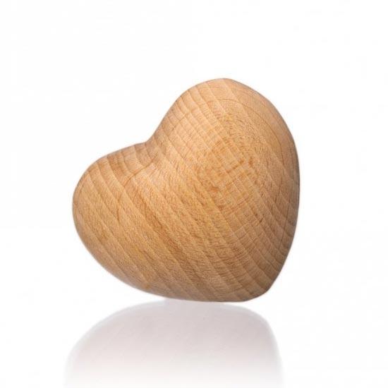 3D Drevené srdce