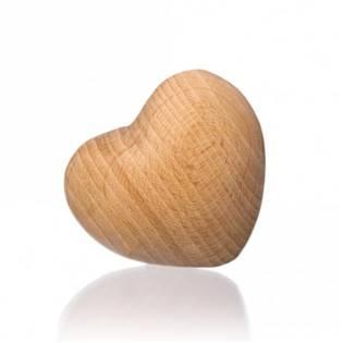 3D Dřevěné srdce