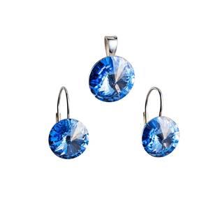 Sada šperků s kameny Crystals from Swarovski® Light Sapphire