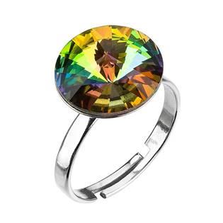 Stříbrný prsten s kamenem Crystals from Swarovski® Vitrail Medium