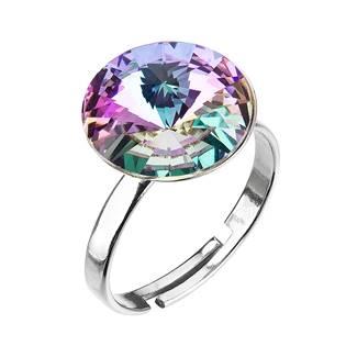 Stříbrný prsten s kamenem Crystals from Swarovski® Vitrail Light