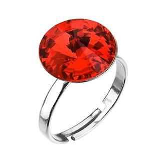 Stříbrný prsten s kamenem Crystals from Swarovski® Light Siam