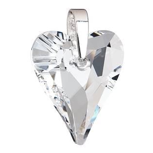 Přívěsek srdce velké krystals from Swarovski