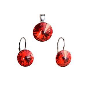 Sada šperků s kameny Crystals from Swarovski® Light Siam