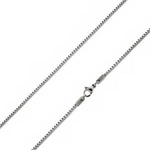 Ocelový řetízek čtvercový, tl. 3 mm