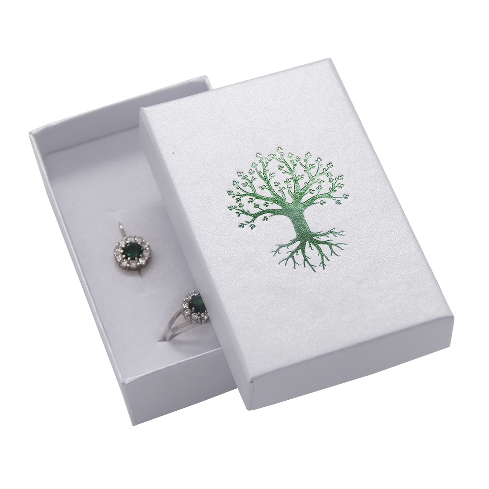 Darčeková krabička na súpravu, zelený strom života