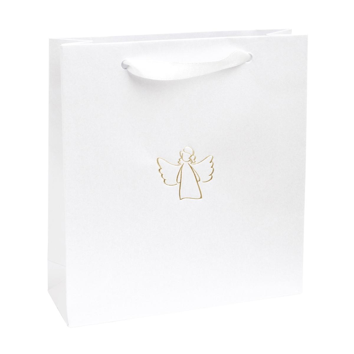 Dárková taška se zlatým andělem