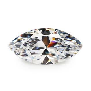 Šperky4U CZ Kubický zirkon - Clear, 3 x 6 mm - CZM600-001