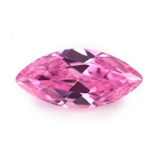 CZ Kubický zirkon - Pink, 2 x 4 mm