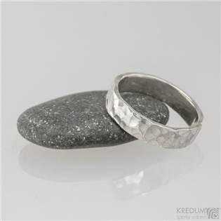 KREDUM® Hynek Kalista Pánský kovaný stříbrný prsten Draill - velikost 70 - KS8500-70