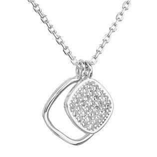 EVOLUTION GROUP CZ Stříbrný náhrdelník s přívěsky - 12013.1